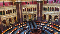 Library of Congress Reading Room 4K