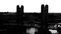 Sacramento Tower Bridge 4k