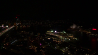 Sydney Opera House y Harbour Bridge en la noche 4K