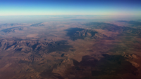 Aerial of Utah Mountains 4K