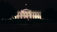White House at Night 4K