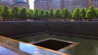 Memorial Pool 911 in New York 4K