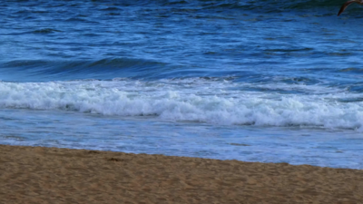 Beach Waves 4K