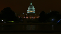 Capital Building at Night 4K