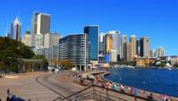 Im Stadtzentrum gelegenes Sydney 4K