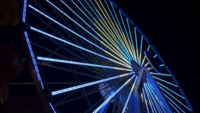Ferris Wheel Spinning 4K