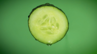 Cucumber Close Up