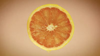 grapefruit close-up