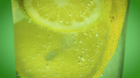 Mineral Water And Lemon