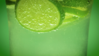 Mineral Water And Lime