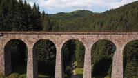 Viaduct onthullende opname in 4K