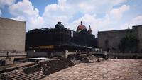 Ancient Ruins Of Museum Of Templo Mayor