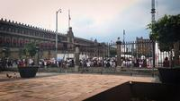 Time Lapse Of Main Square Of Mexico City From Metropolitan Cathedral