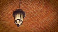 Lamp In The Brick Vault