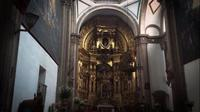 Sacred Art In Church Of San Francisco De Asis
