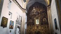 Golden-altarpiece-in-church-of-san-francisco-de-asis
