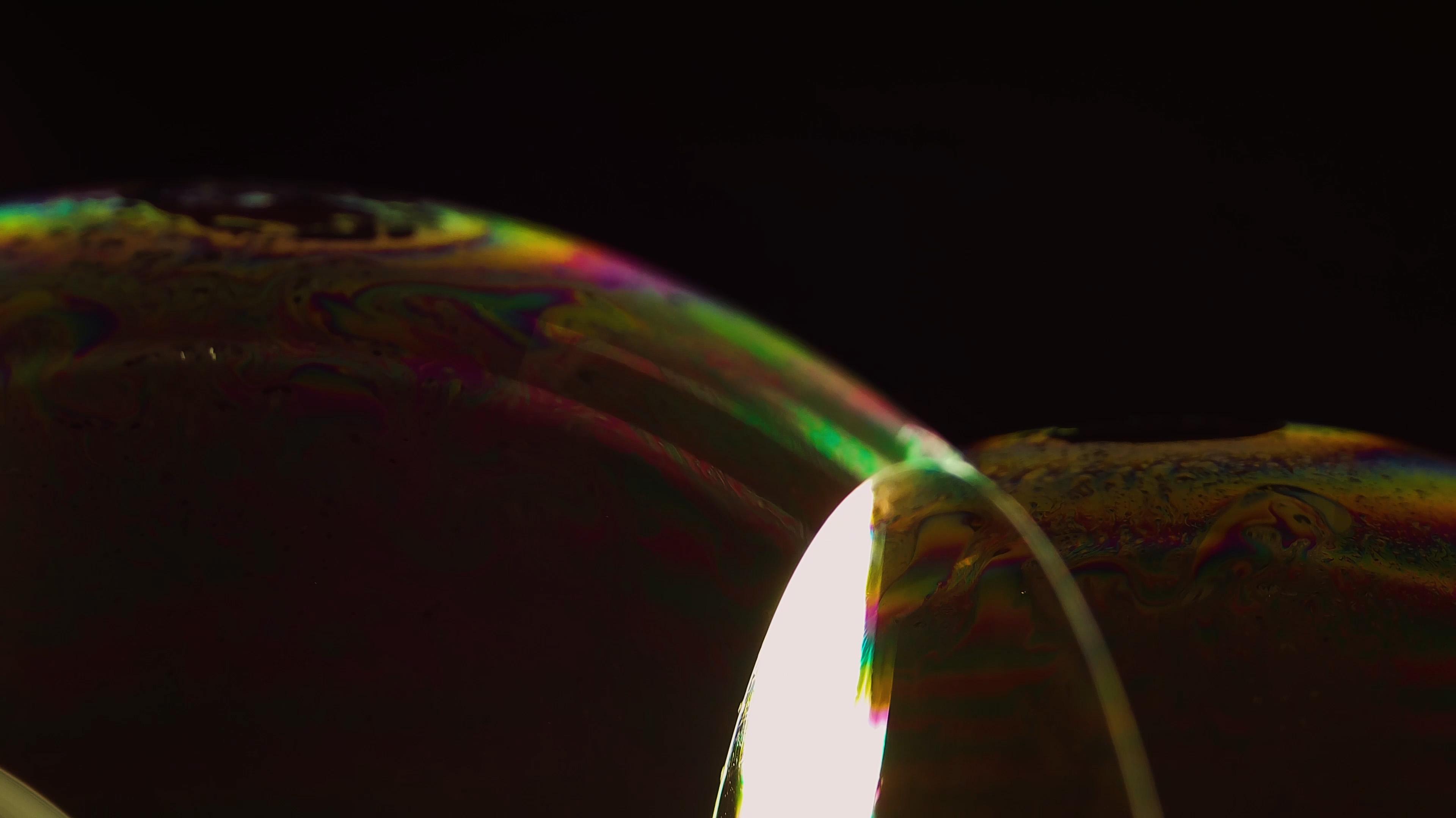 Gelegentliche Blasen