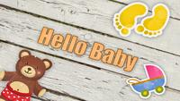 Modèle gratuit Hello Baby After Effects