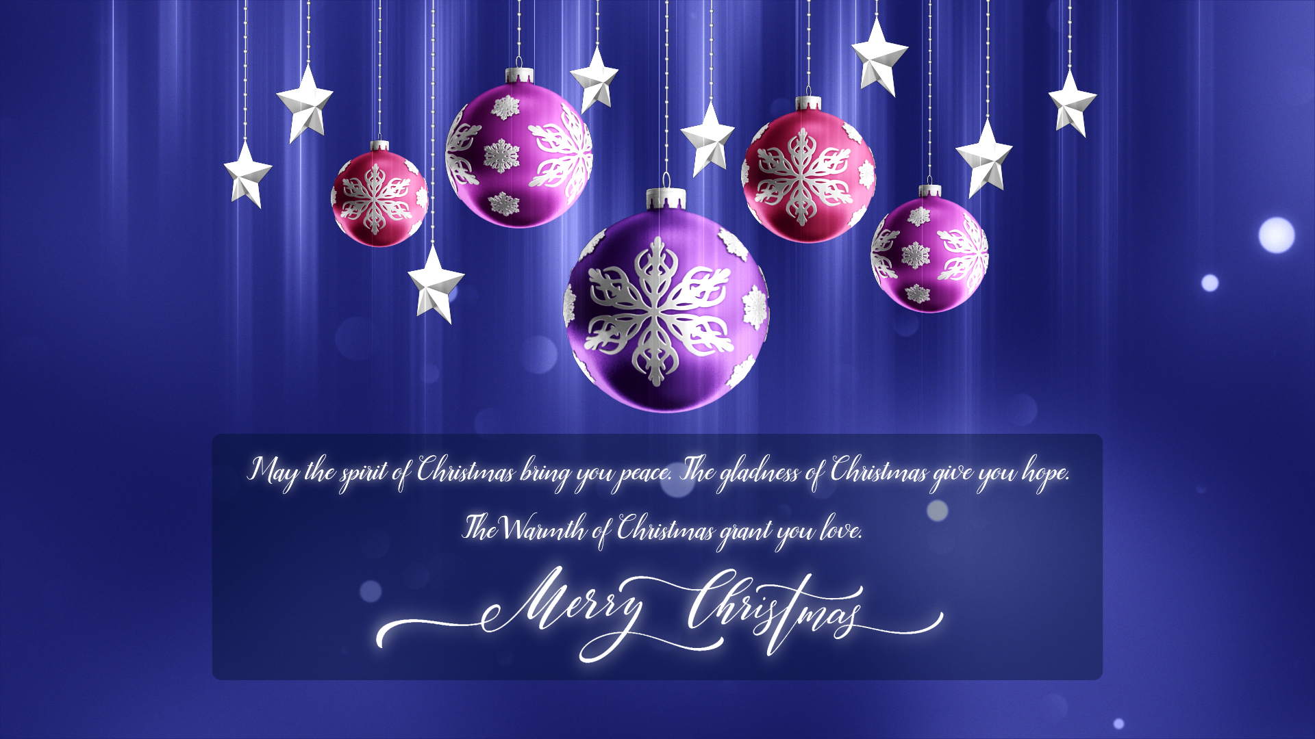 christmas ornaments 4k looping background template 02 free hd