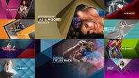 Titre avancé After Effects Template Pack 01
