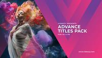 Advance Titles Premiere Mogrt Template 13