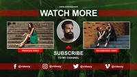Youtube Channel End Screen AE Template 05