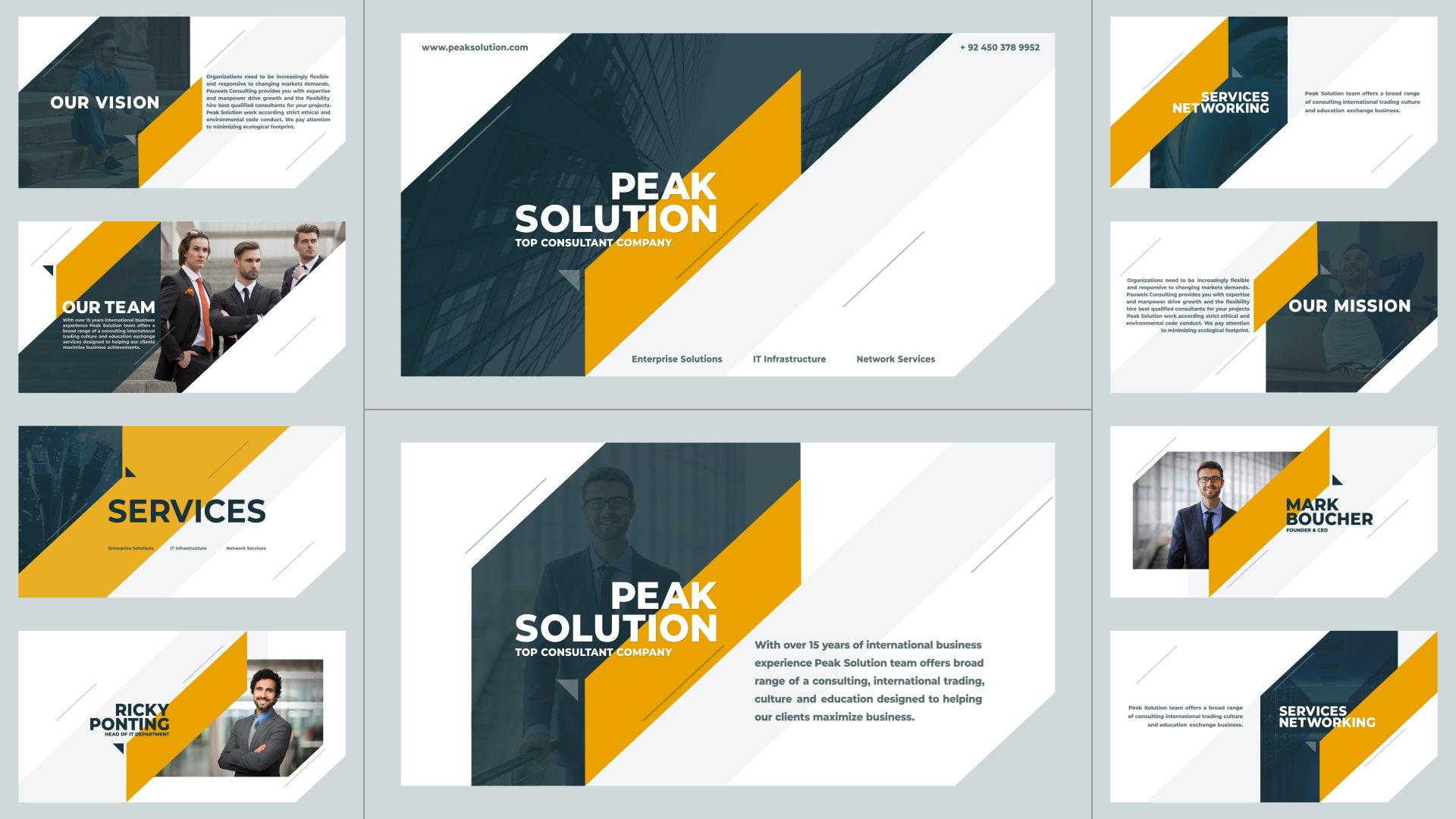 Corporate Presentation After Effects Template Pack 01 - Free