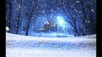 magische sneeuw - sneeuw kerst video achtergrond loop