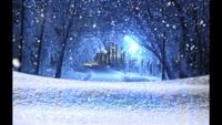 nieve mágica - nieve navidad video fondo bucle