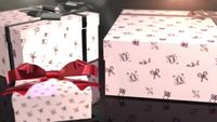 christmas birthday white gift animation