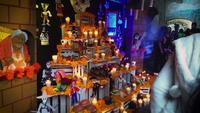 Mexican Offering Of Day Of The Dead In A Museum 7565