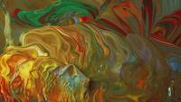 Mischung Von Lebendigen Farben Vom Wind Bewegt