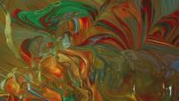 Mischung mit Farbe vom Wind bewegt