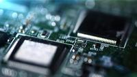 Mainboard-Motherboard in der Nähe Kamera-Laufwerk