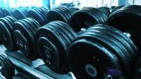 close-up sportschool halters fitness center sport