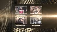 Premios Show Four Screen Feature Pantalla Mogrt plantilla