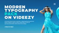 Modern Typography Title After Effects Template 23