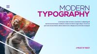 Modern Typography Titles Mogrt Template 07
