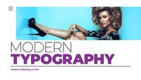 Modern Typography Titles After Effects Template 28