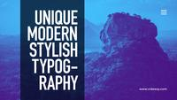 Titres de typographie modernes After Effects Template 35