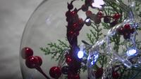Christmas Decoration And lights In Sphere