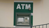 Handhållen Clip Of ATM Cashier Machine