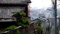 Oude straat Tokio