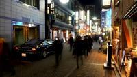Rue de Tokyo timelapse