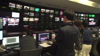 News Station Master Control Room