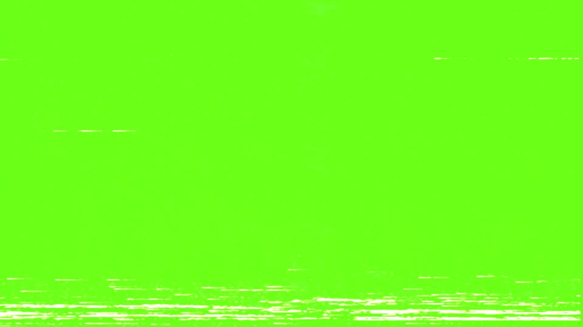 VHS Static Green Screen Overlay - Free HD Video Clips