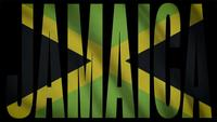 Jamaica Flag With Jamaica Mask
