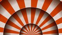 Vintage abstracte circus achtergrondrotatie
