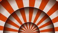 Animation Of Vintage Abstract Circus Background