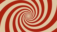 Hypnotic Spiral Background Rotating